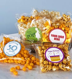 100 Count Clear Snack Bags Cheese Popcorn