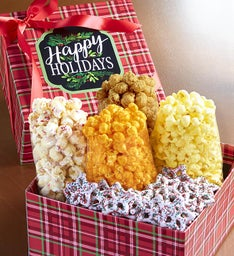 Happy Holidays Petite Snack Gift Box