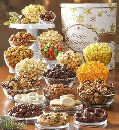 Gold Snowflake Ultimate Snack Assortment