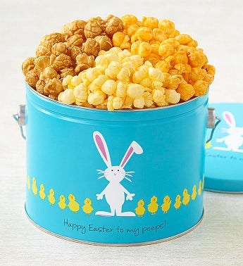 Easter Egg Parade 12 Gallon Pail Of Popcorn