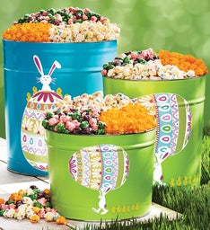 Personalized gifts custom snack gifts the popcorn factory easter egg parade deluxe popcorn tins negle Gallery