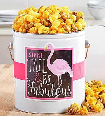 Be Fabulous Popcorn Tins