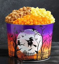 Bat Moon Rising 3 Flavor Popcorn Tins