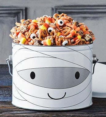 Monster Mash Mummy 12 Gallon Snack Mix