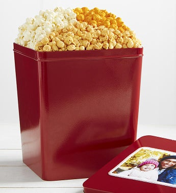 3 Gallon Cheese Trio 3 Flavor Popcorn Tins