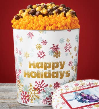 Sparkling Snowflakes Happy Holidays Deluxe Flavors