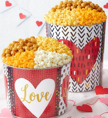 Wild About You Popcorn Tins