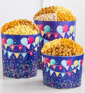 Popcorn Tins | Tins of Popcorn for All Occasions | The Popcorn Factory