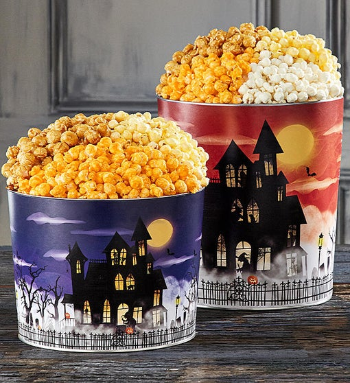 Fright Night Popcorn Tins
