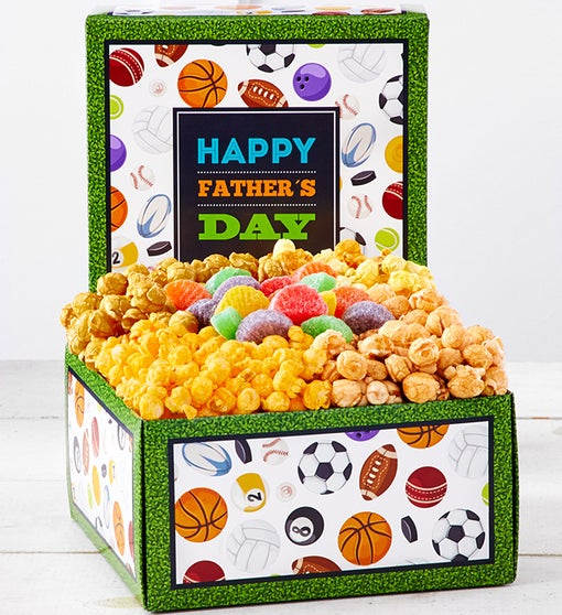 Happy Father's Day Snack Sampler