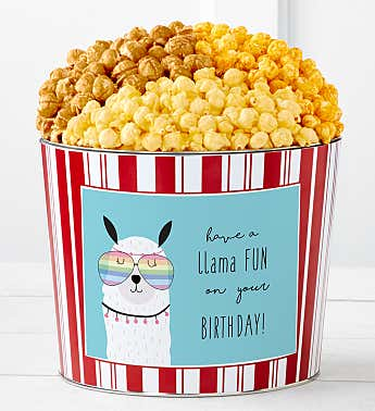 Tins With Pop® Have A Llama Fun Birthday