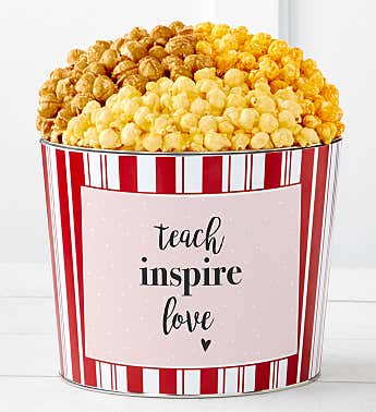 Tins With Pop® Teach Inspire Love