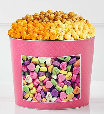 Tins With Pop® Love You Love Me Heart Candies