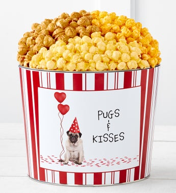 Tins With Pop™ Pugs And Kisses
