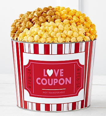 Tins With Pop® Love Coupon