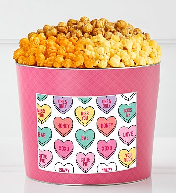 Tins With Pop® Conversation Hearts