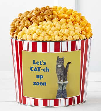 Tins With Pop® Let's Cat-Up Soon