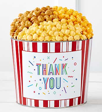 Tins With Pop® Thank You Shapes