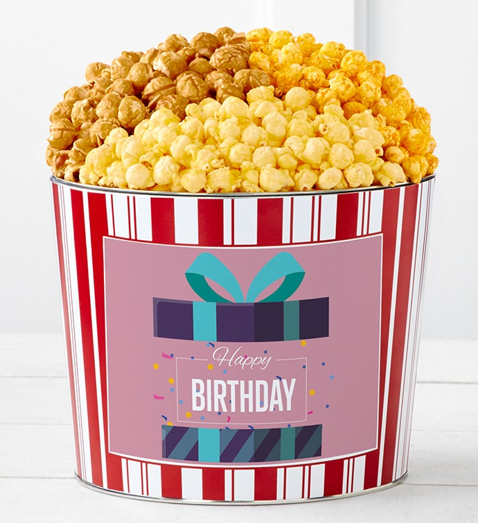 Tins With Pop® Happy Birthday Gift