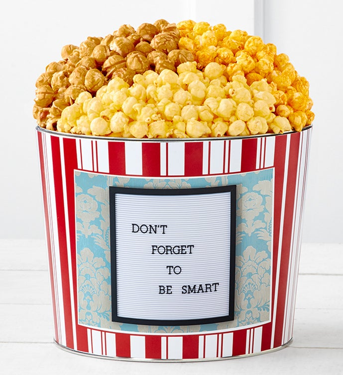 Tins With Pop® Don't Forget To Be Smart