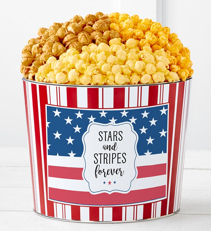 Tins With Pop® Stars & Stripes Forever