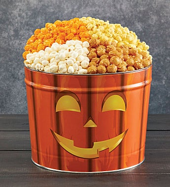 Ghostly Grins Popcorn Tins
