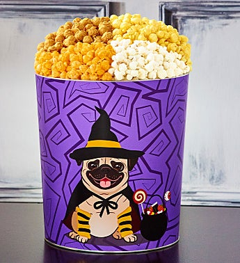 Halloween Howlers 3 1/2 Gallon Popcorn Tins