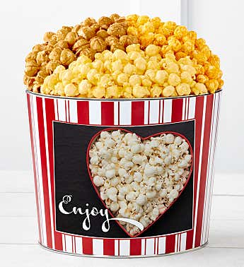 Tins With Pop® Enjoy Popcorn