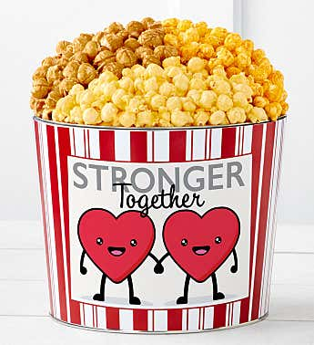 Tins With Pop® Hearts Stronger Together