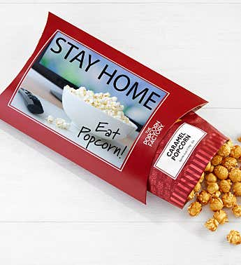 Cards With Pop® Stay Home Eat Popcorn