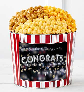Tins With Pop® Congratulations Balloons