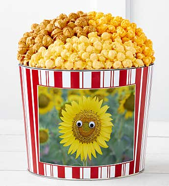 Tins With Pop® Happy Sunflower
