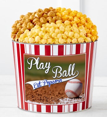 Tins With Pop Play Ball Eat Popcorn