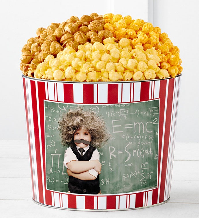 Tins With Pop® Back to School Einstein Kid