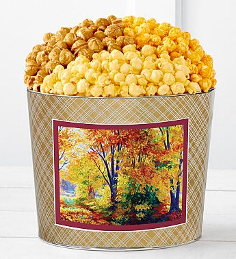 Tins With Pop® Autumn Canvas