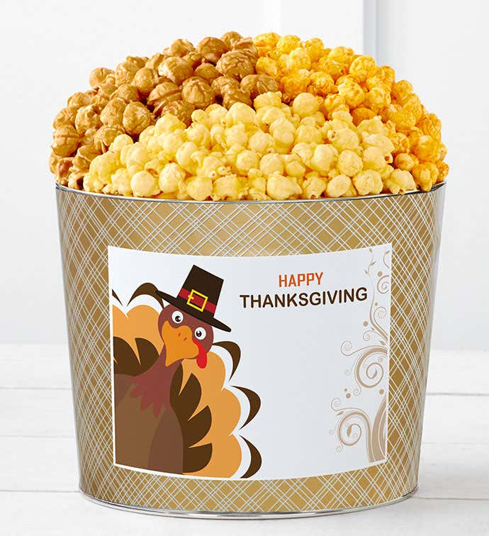 Tins With Pop® Happy Thanksgiving Turkey