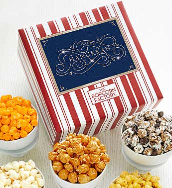 Packed With Pop™ Happy Hanukkah Blue Gold