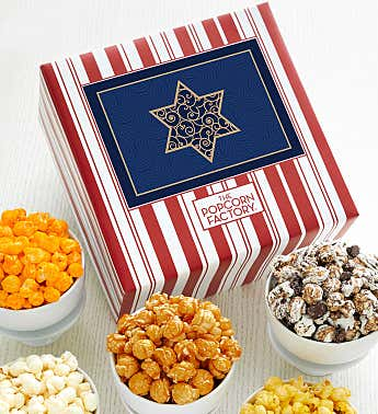Packed With Pop™ Happy Hanukkah Gold Star