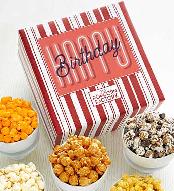Packed With Pop™ Happy Birthday Retro Font