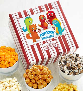 Packed With Pop™ Popcorn Monsters