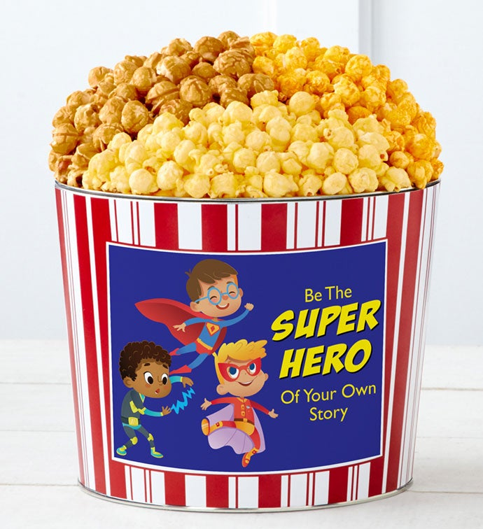 Tins With Pop® Be The Superhero Boy