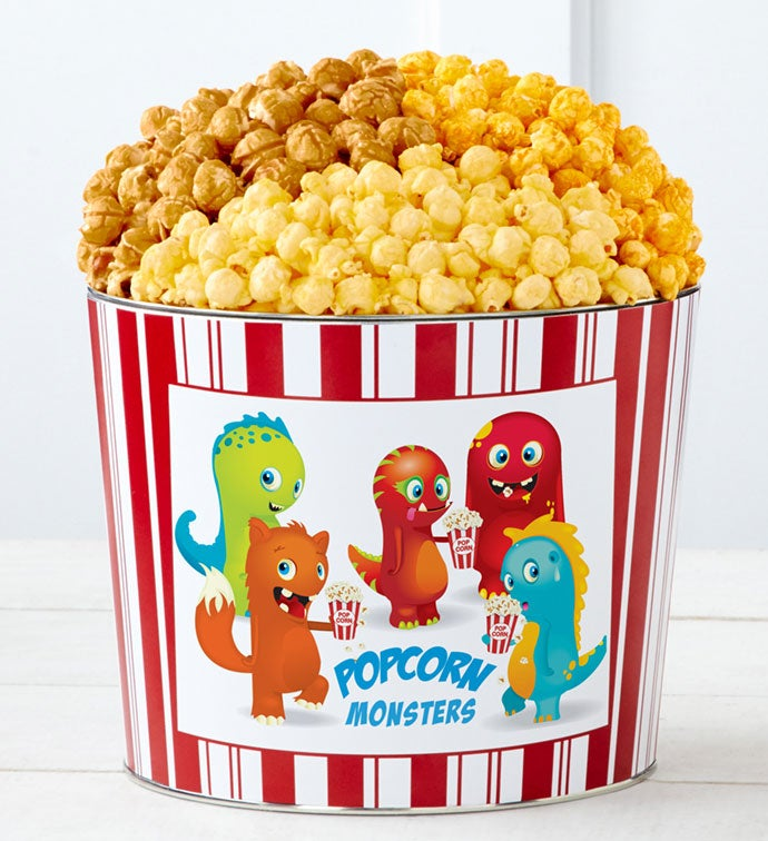 Tins With Pop® Popcorn Monsters