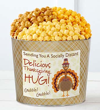 Tins With Pop® Sending You A Socially Distant Delicious Thanksgiving Hug