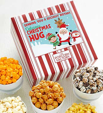 Packed With Pop™ Sending You A Socially Distant Delicious Christmas Hug