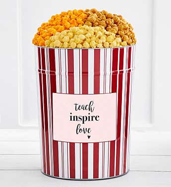 Tins With Pop® 4 Gallon Teach Inspire Love