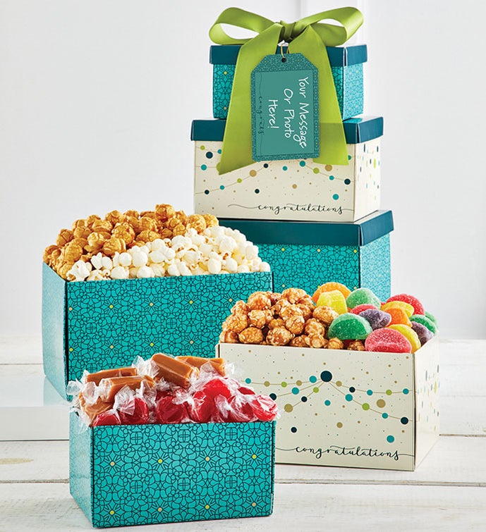 3 Gift Box Congrats Tower