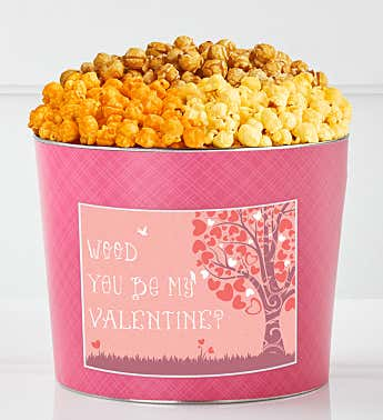 Tins With Pop® Wood You Be My Valentine?
