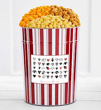 Tins With Pop® 4 Gallon Love Is In The Air Hearts