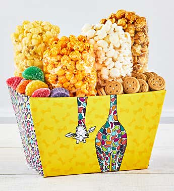 Party Animals Gift Bin