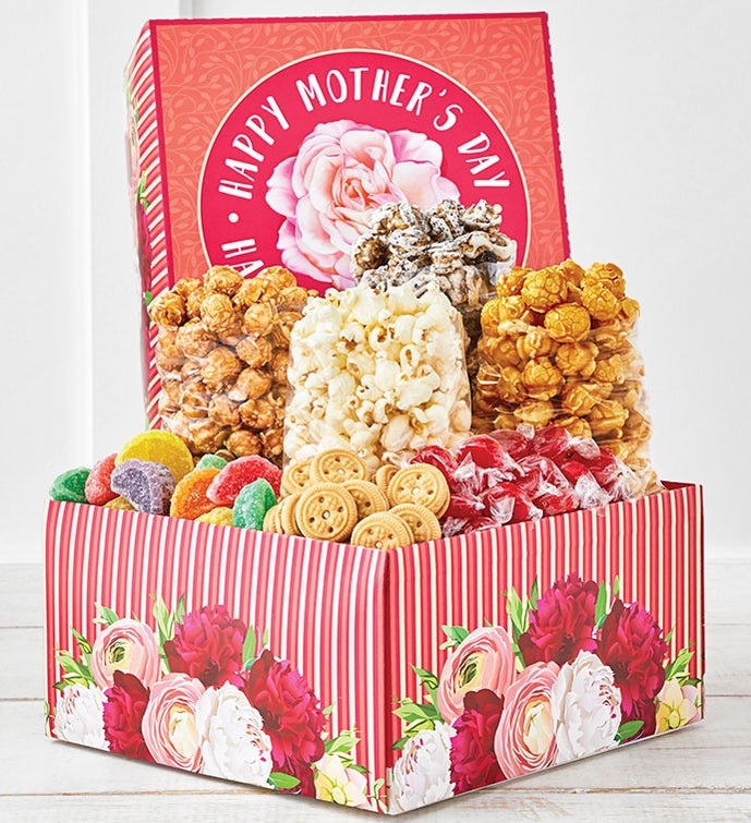 Blooms For Mom Deluxe Gift Box